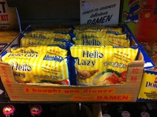instant noodles blooms