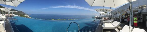 Garza Blanca panoramic view