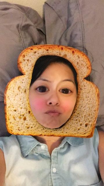 snapchat toast filter