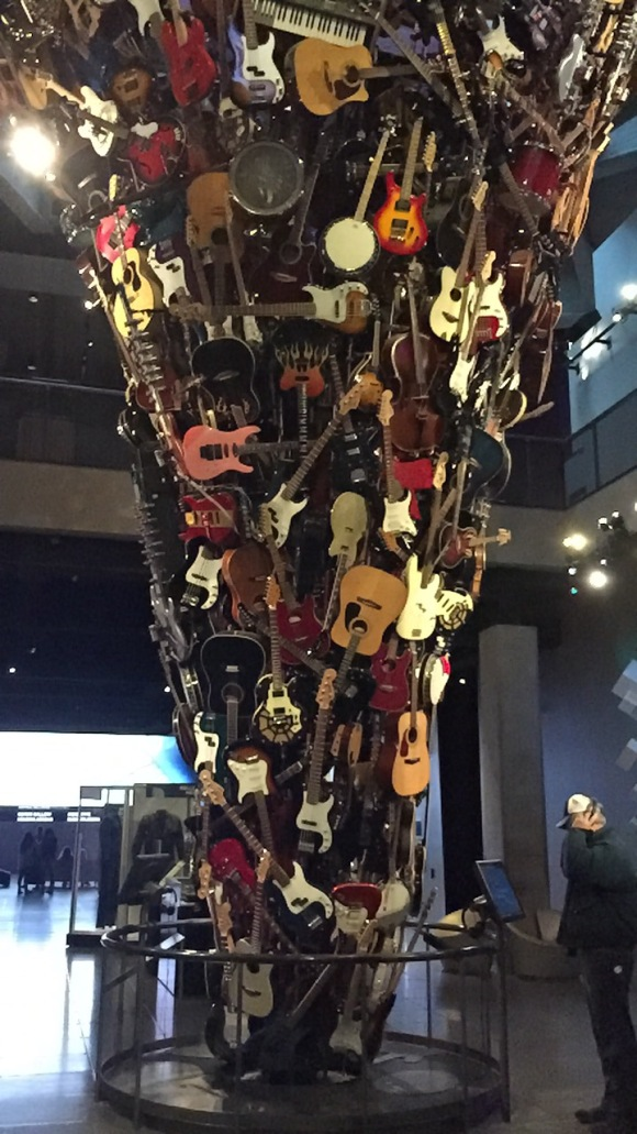 MoPOP, museum of modern art, Nirvana, music, guitars, museums