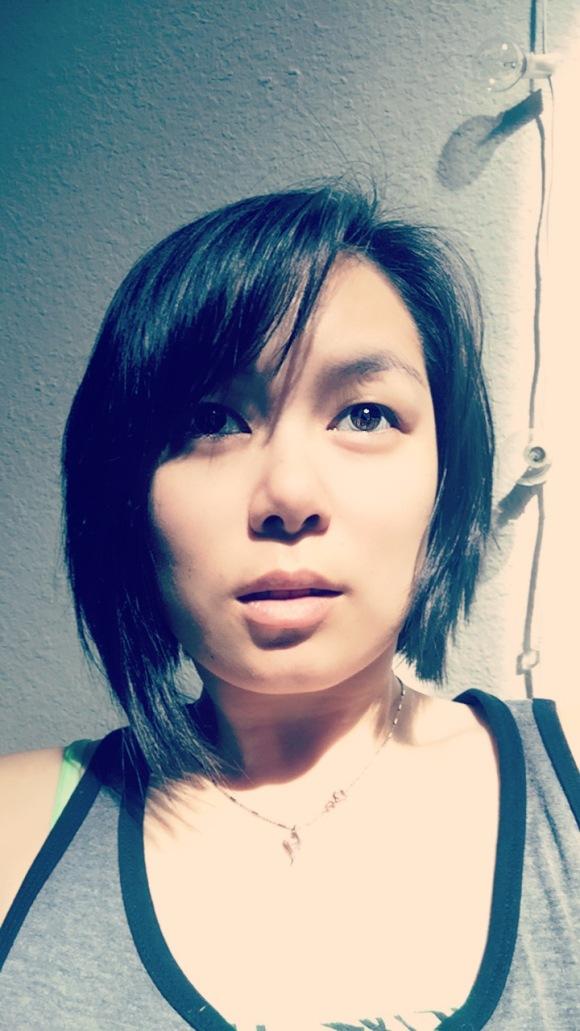 snapchat, haircut, asymmetrical haircut, filtered photos