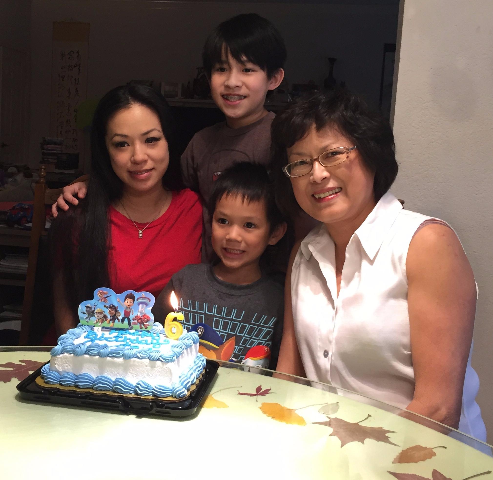 birthdays, nephew, six years old, celebrations, cake