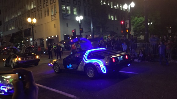 delorean starlight parade portland rose
